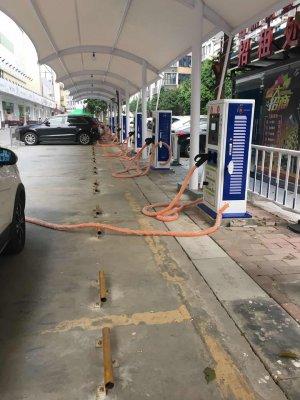 鸿嘉利新能源充电桩盈溪商务中心应用场景