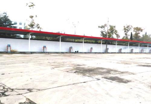 焦作公共公交充电站合作案例