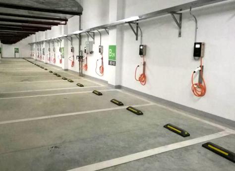 广州盈熙商贸中心充电桩应用案例