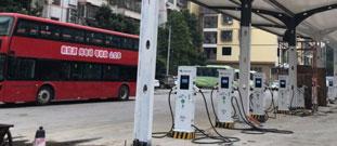 西安绿腾新能源停车场充电桩合作案例