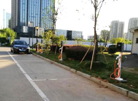 深圳南山清华园小区新能源充电桩合作案例