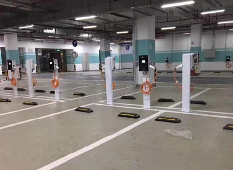 深圳拾悦城充电站-7KW交流充电桩