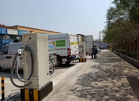 翔域(广州)充电站-60kw120kw直流充电桩