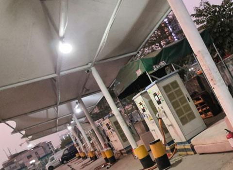 华远平湖充电站120KW