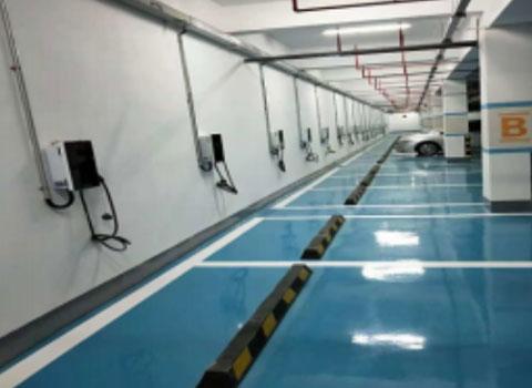 碧海湾碧海君庭充电站7KW交流充电桩