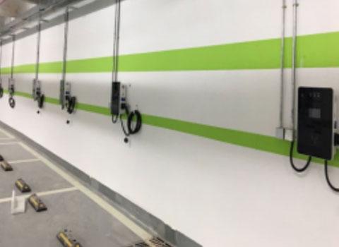 康利城充电站7KW交流桩