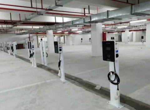 7KW交流充电桩中山敏捷领航公馆充电站