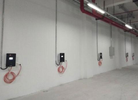 7KW交流充电桩中山国际花城充电站