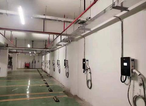 广大附中南沙实验学校地下停车场充电桩项目